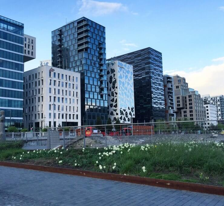 Photo of Bjørvika The Barcode