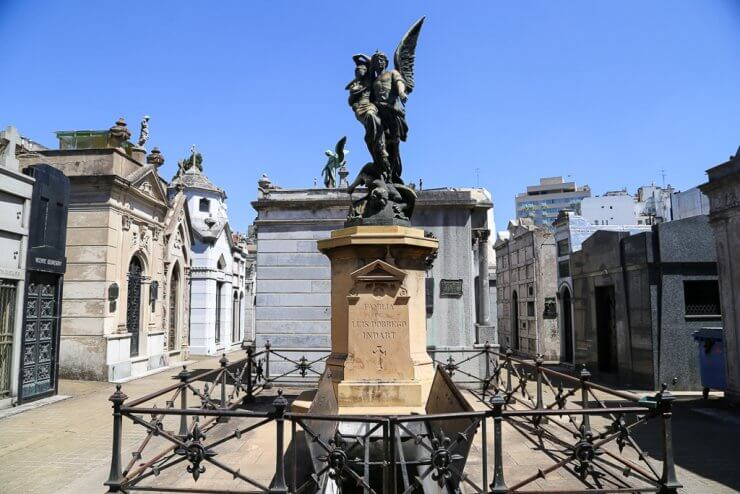 Recoleta Cemetery is the first stop in this one day in Buenos Aires Itinerary
