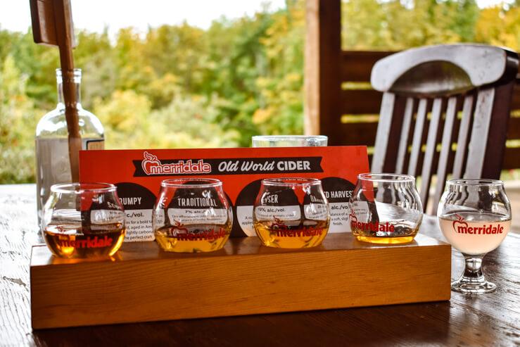 Cider Tasting at Merridale Cidery