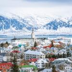 Skyline view of Reykjavik: How to spend on day in Reykjavik, Iceland.
