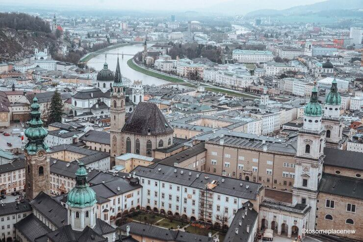 Visit Salzburg, Austria on a day trip from Vienna.