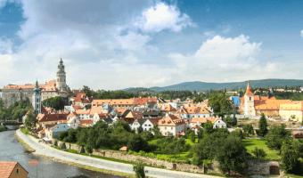 Visiting Cesky Krumlov on a day trip from Prague