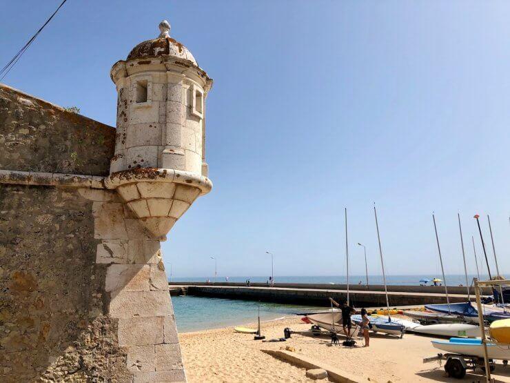 Forte da Ponta da Bandeira in Lagos, Portugal
