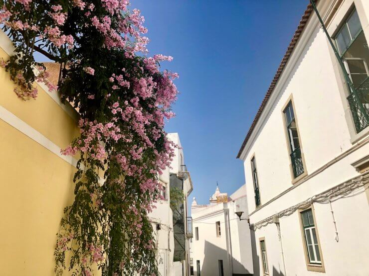 Old Town area of Lagos, Portugal