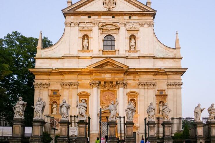Church of St. Peter & Paul in Krakow, Poland