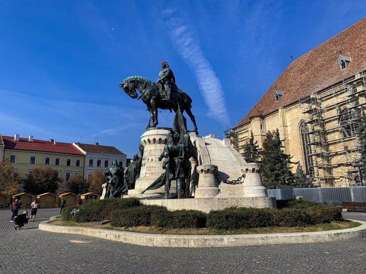 Piata Unirii in Cluj