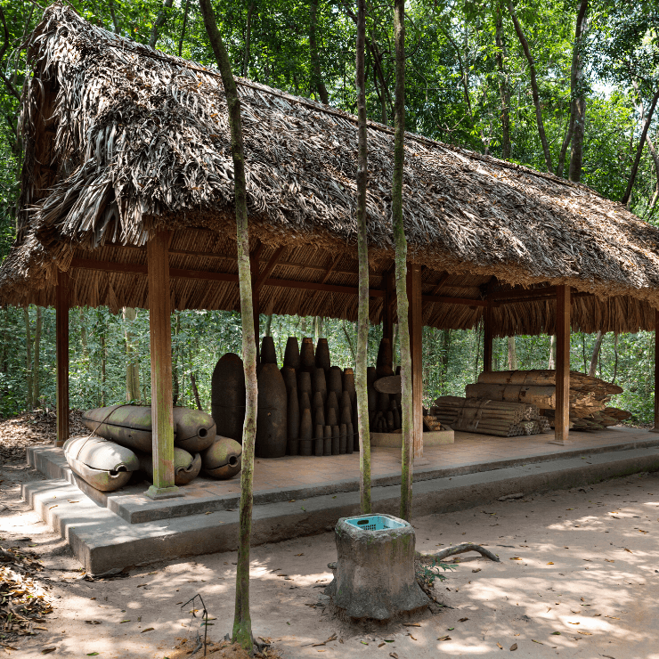 War History at the Cu Chi Tunnels