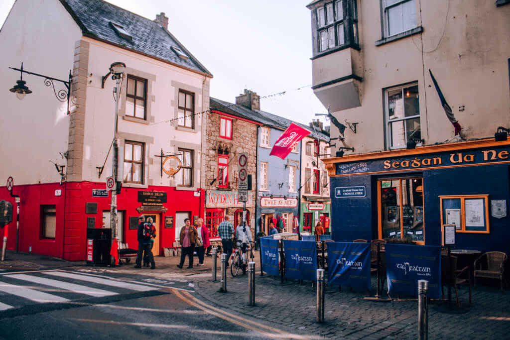 The Quay in Galway