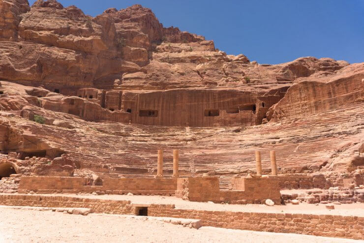 The Theatre is a must see during a day trip to Petra.