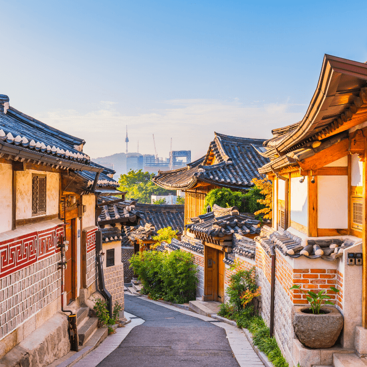 Bukchon Hanok Village is a must-see place if you have one day in Seoul.