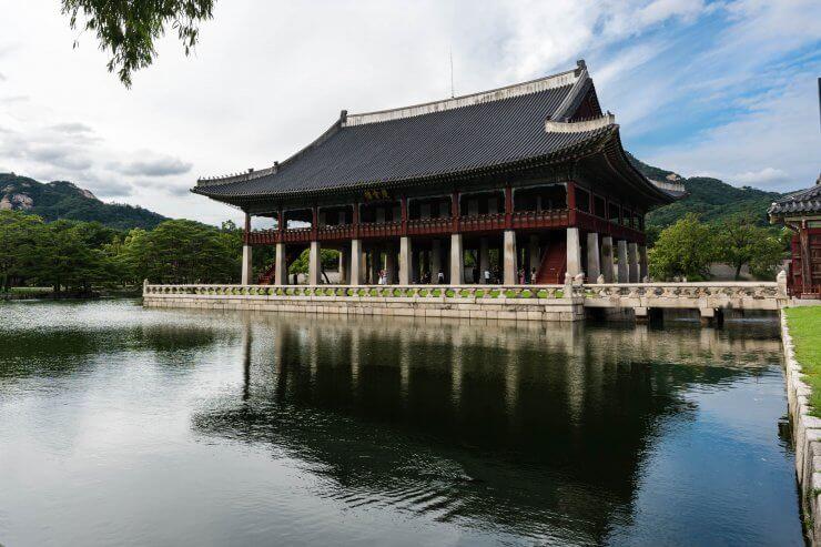Waterside Building at Gyeongbokgung Palace