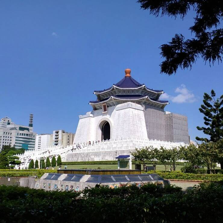 Chiang Kai-Shek Memorial Hall is a must-see site even if short on time and you only have one day in Taipei.