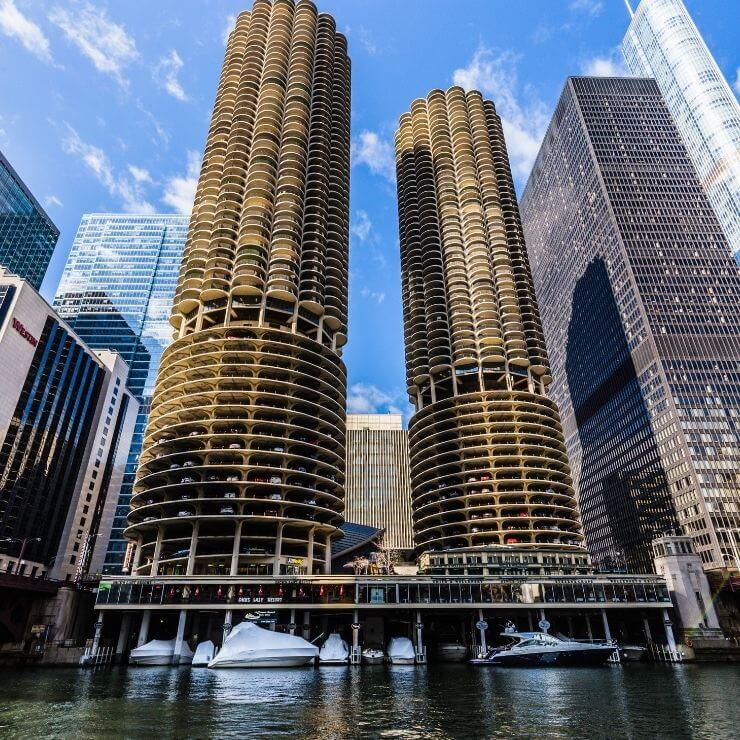 A perfect one day in Chicago itinerary should include time spent at the Chicago Riverwalk