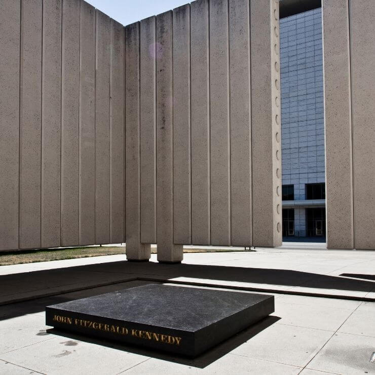 John F Kennedy Memorial in Dallas