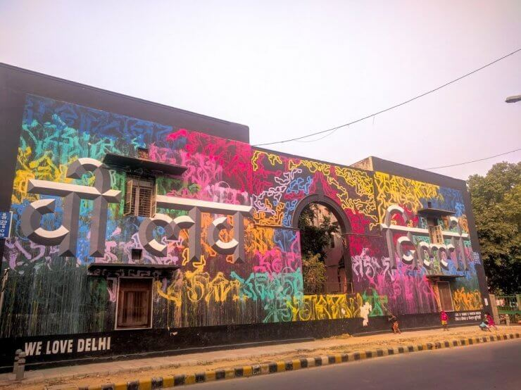 Lodhi Art District in Delhi