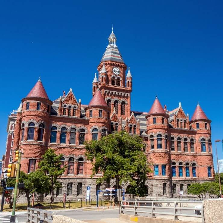 The Old Red Museum is an architecturally stunning building and an excellent museum to tour during a day in Dallas.