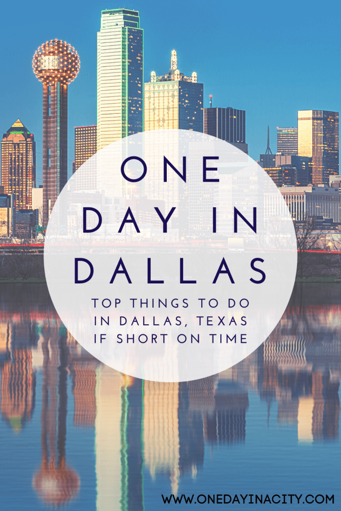 This One Day in Dallas Itinerary will help you discover the art, culture, history, and cuisine of Dallas -- all in just 24 hours.