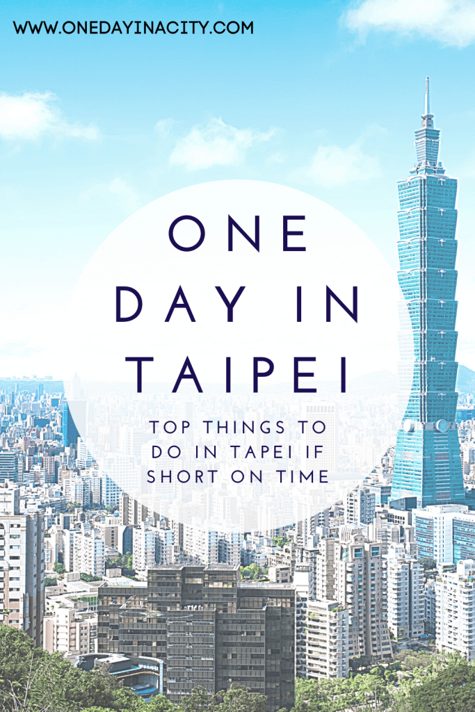 If you have 24 hours or less to spend in Taipei, then check out this One Day in Taipei itinerary with the top things to do and see if short on time.
