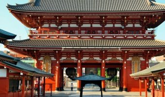 One Day in Tokyo, Japan: Sensoji Temple is one of the top things to do in Tokyo