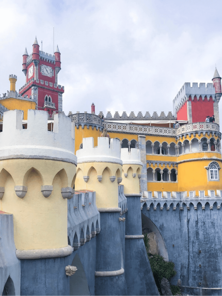 Visiting Pena Palace is at the top of the list for things to do if you have just one day in Sintra.