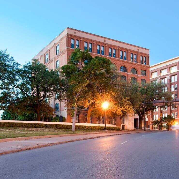 During a trip to Dallas, visit the Sixth Floor Museum to learn more about the JFK assassination.