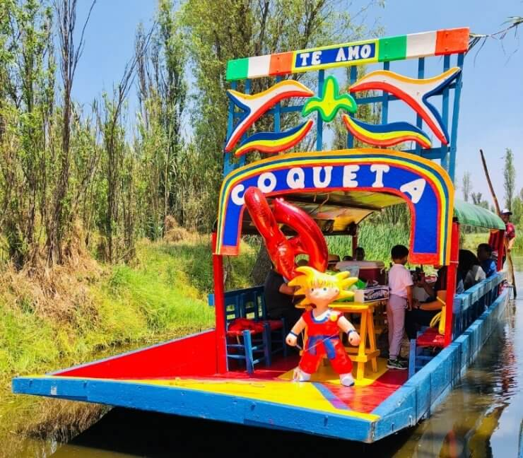 Xochimilco: Colorful boat ride that should be on your One Day in Mexico City itinerary