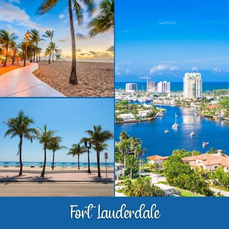 Fort Lauderdale is one of the best day trips in southeast Florida.