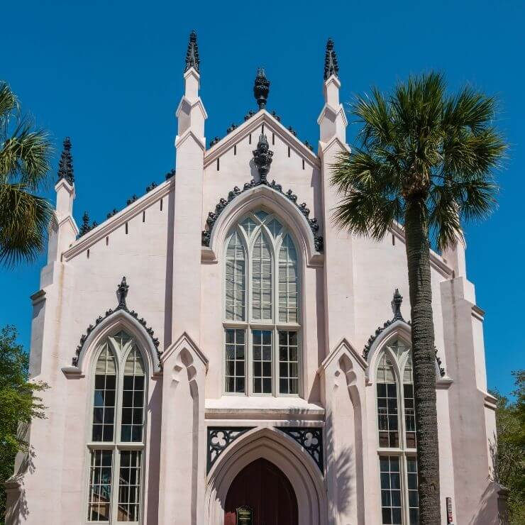 French Huguenot Church in Charleston