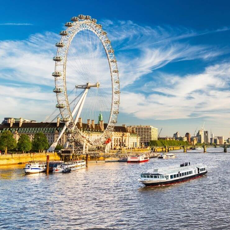 London Eye is a top attraction for visitors spending a day in London