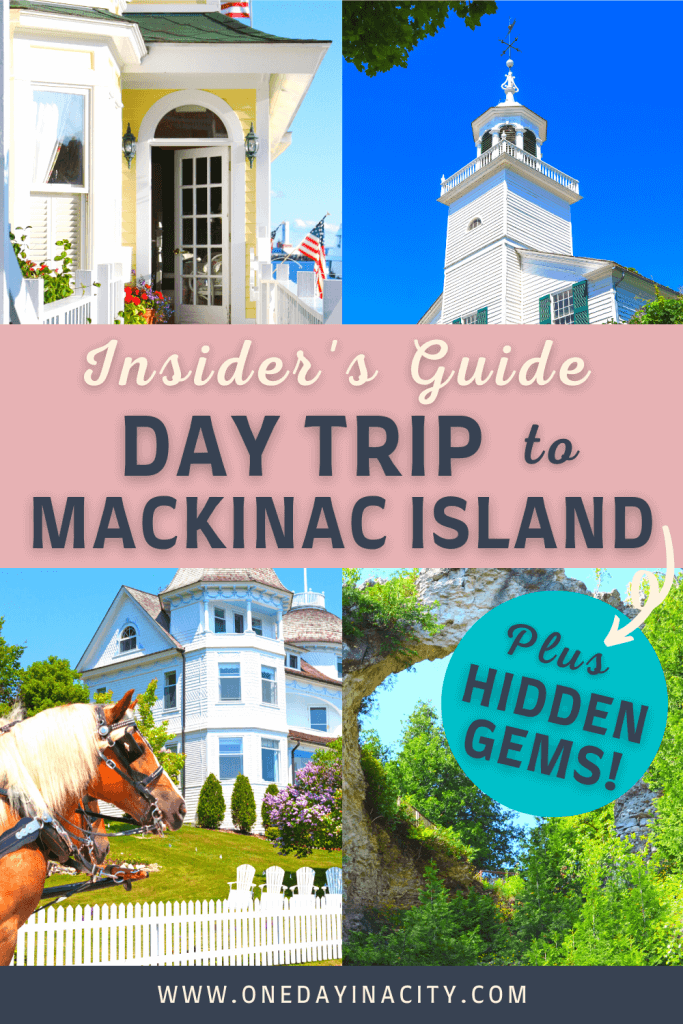 Find out the best things to do on a day trip to Mackinac Island plus tips on getting there and what to eat. If you love outdoor adventures, gorgeous scenery, shopping, and great eats, Mackinac Island will be your paradise!