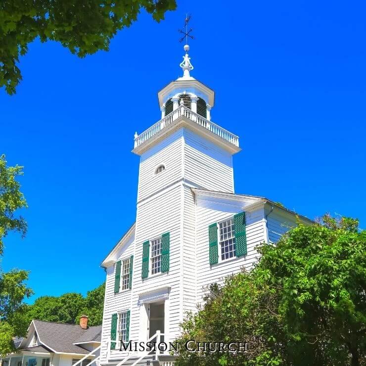 Mission Church Mackinac Island