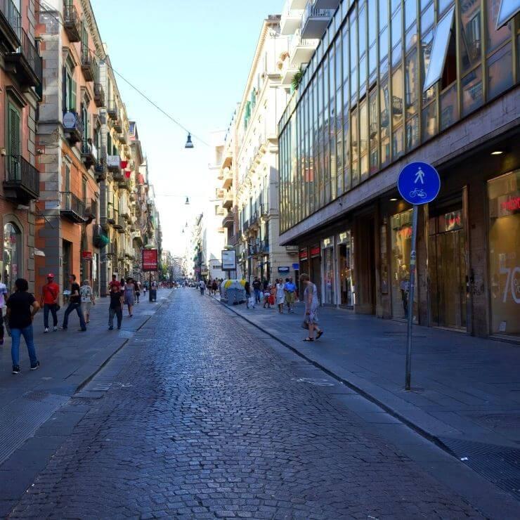 Via Toledo in Naples