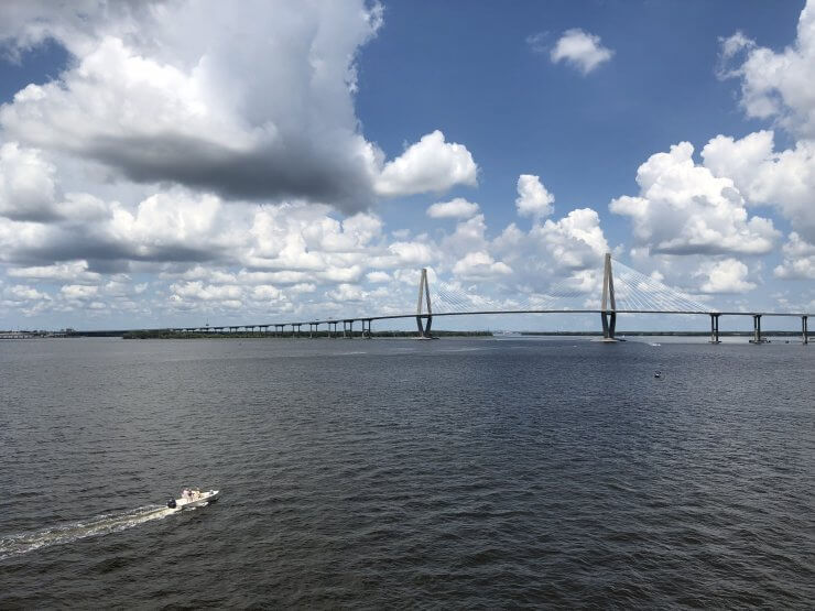 Ravenel Bridge is a Hard to Miss Charleston Landmark