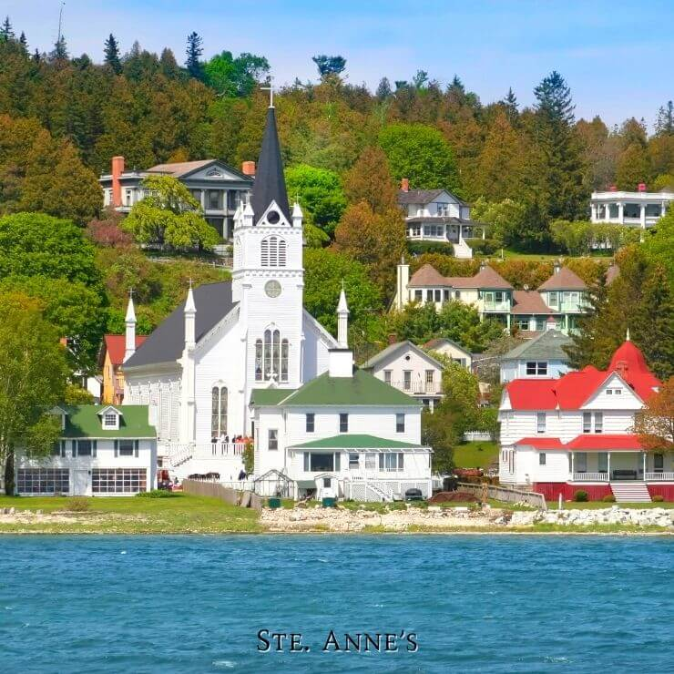Ste Anne Cathedral Mackinac Island