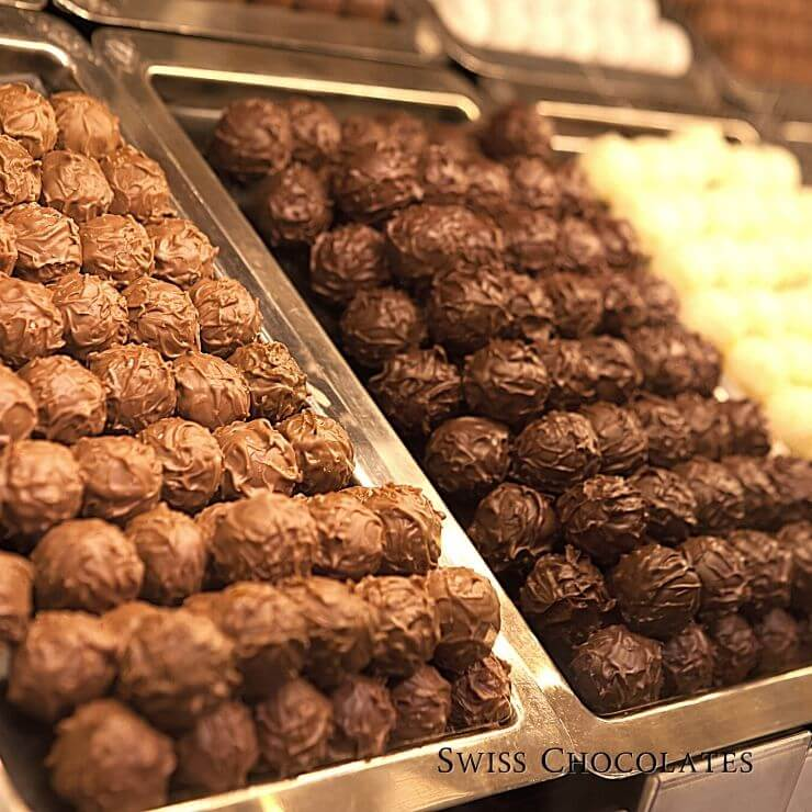 Zurich is known for its delicious chocolates that are worth making time to try during your 24 hours in Zurich.