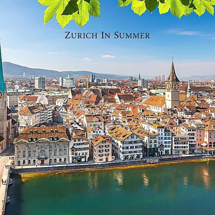 Best time to go to Zurich depends on your interests.