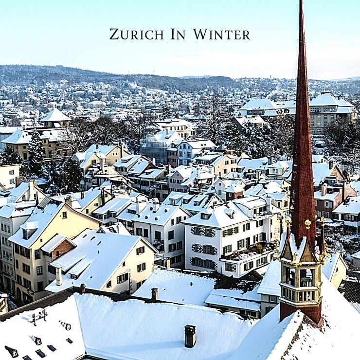 Zurich in winter is cold, but can be enchanting.