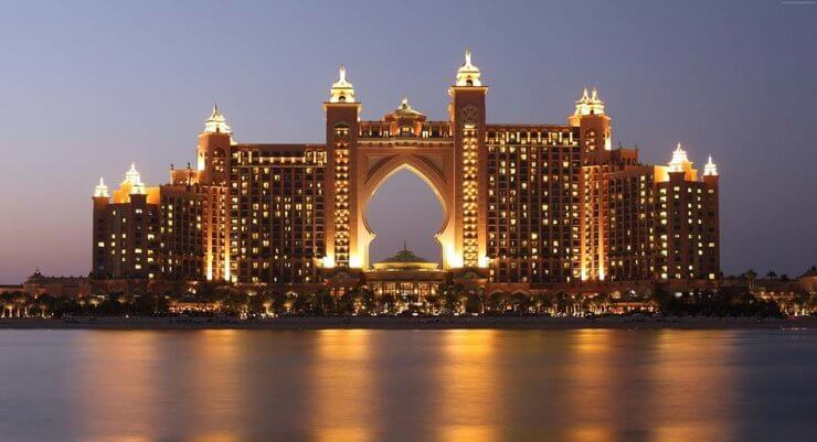 Atlantis, the Palm is an incredible structure to see during a day in Dubai