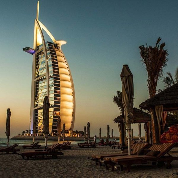 Burj al Arab in Dubai should definitely be on your itinerary even if you only have 24 hours in Dubai