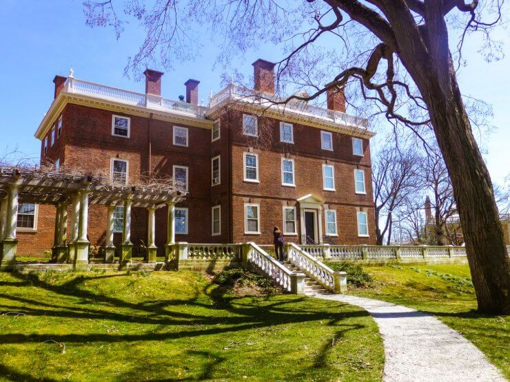 John Brown House Museum is another historic building you can tour in College Hill.