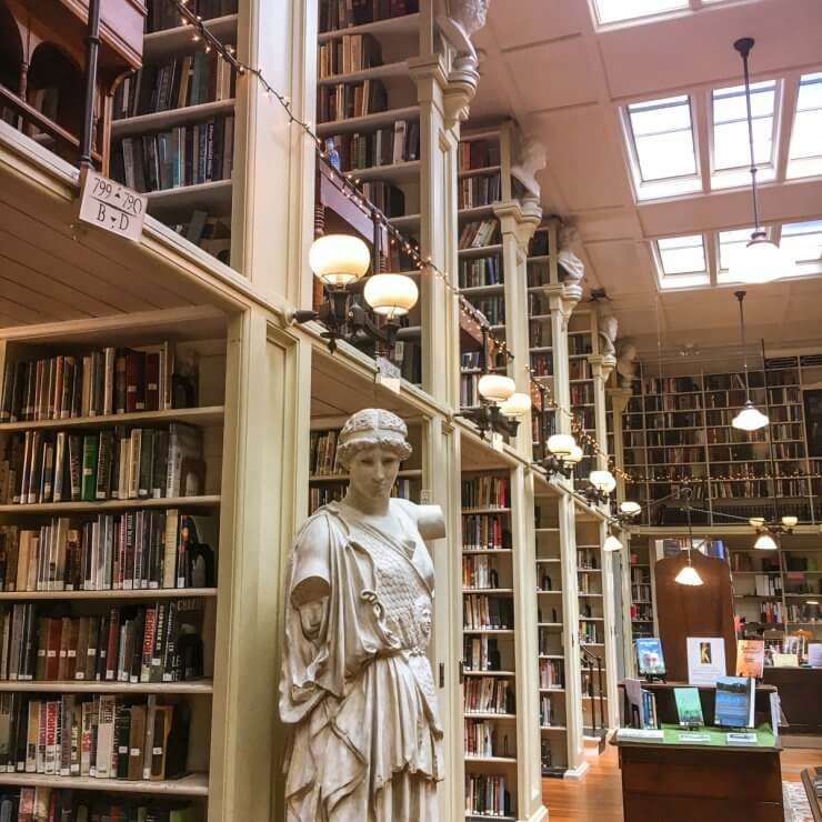 Providence Athenæum is a must-see place to visit on your day in Providence.