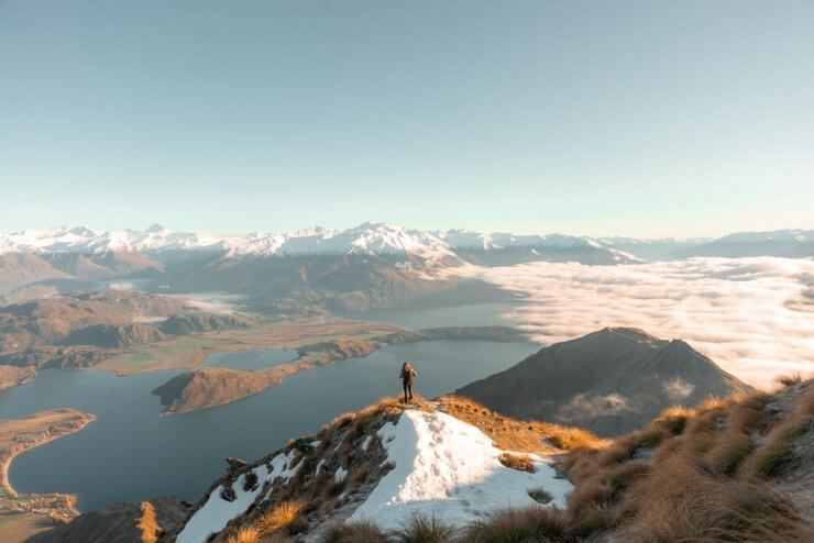 Roys Peak in New Zealand is a bucket list worthy hike on the South Island