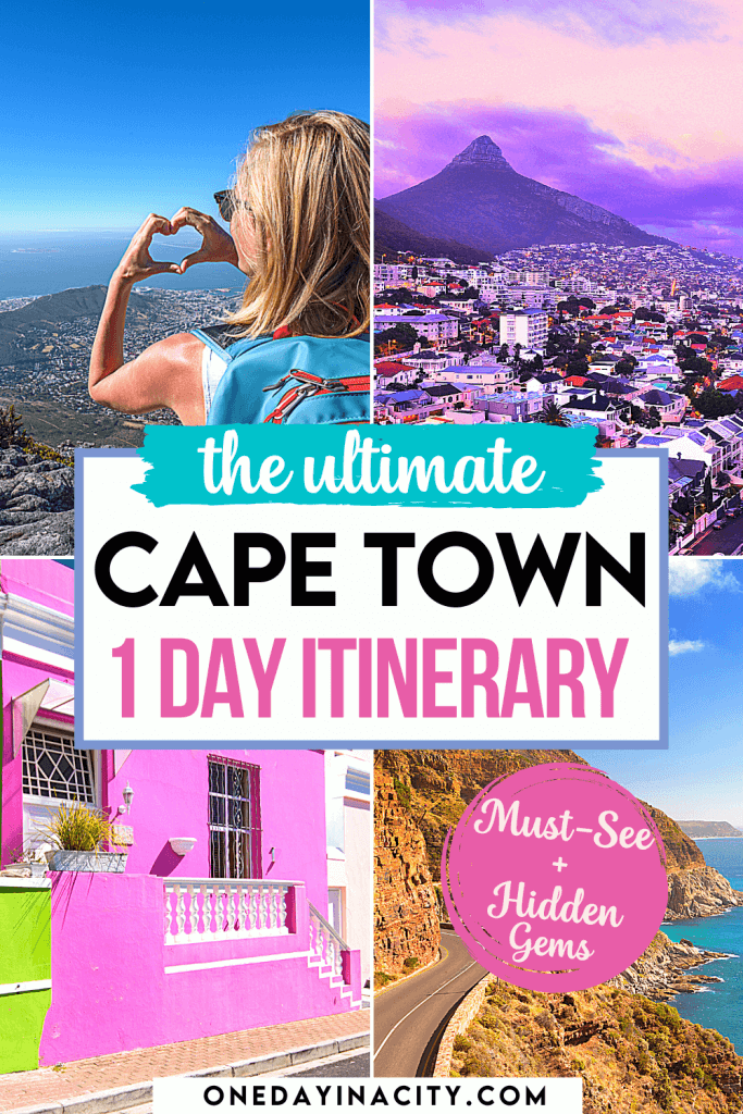 A South African shares a perfect itinerary for how to spend one day in Cape Town, with tips on what to do, must-see sites, and hidden gems.