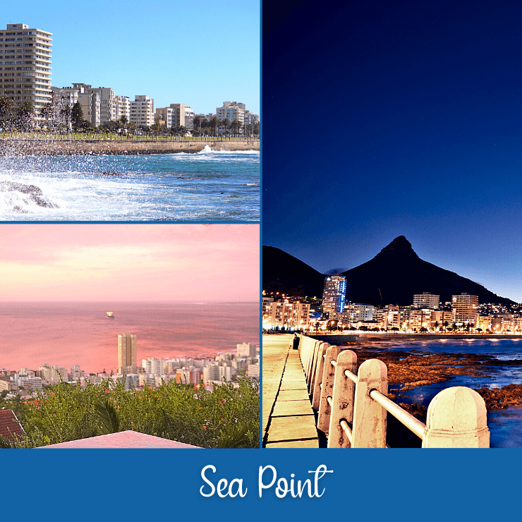 Sea Point is a beautiful part of Cape Town that is also a great place to get drinks.