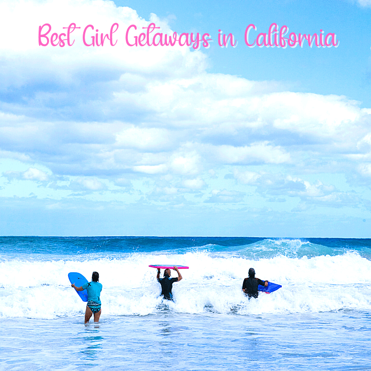 Top picks for a 2021 Girls Trip in California! Get away with your best friends to these gorgeous California destinations for good eats, laughs, wine, spas, and reconnecting.