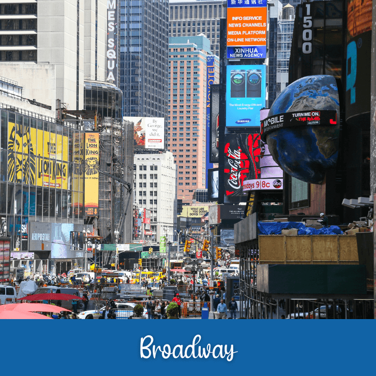 Have 24 hours in New York City? Include a Broadway show in your NYC itinerary.