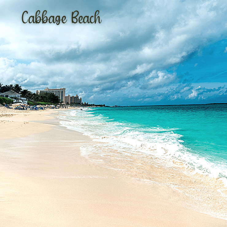 Cabbage Beach in Nassau, Bahamas