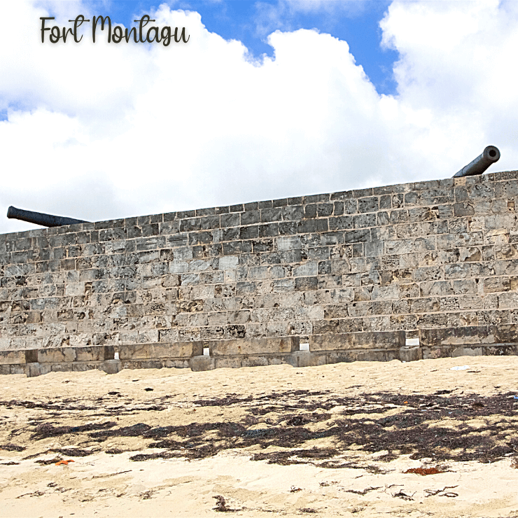 Fort Montagu Beach in Nassau, Bahamas