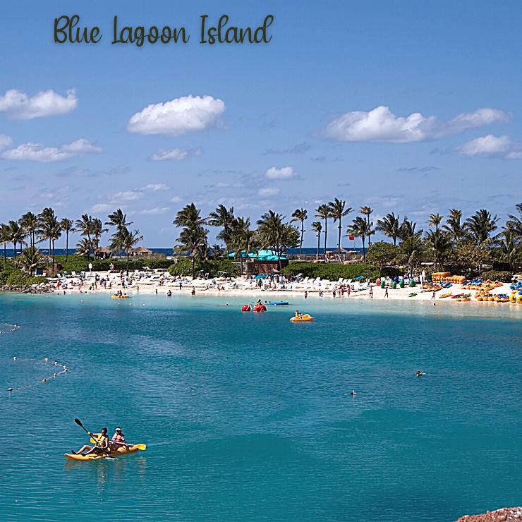 Blue Lagoon Island in Nassau, Bahamas