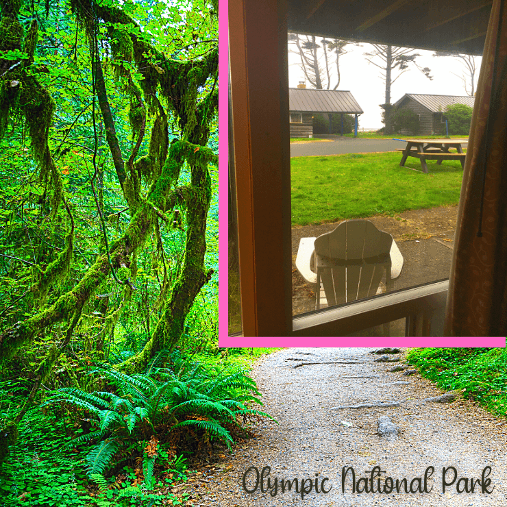 Kalaloch Lodge and Hoh Rain Forest in Olympic National Park is a great girls weekend in the Pacific Northwest.